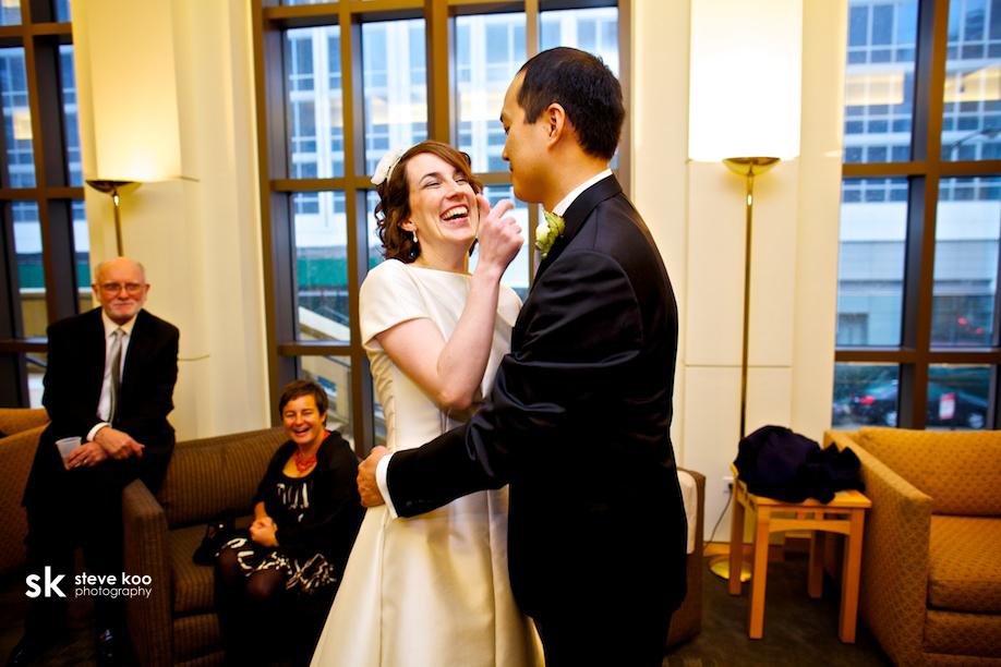 Toast and jam wedding